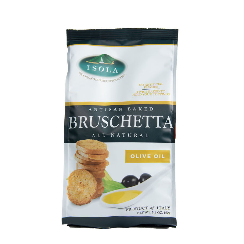 Isola All Natural Baked Bruschetta Crackers 5.4oz (available in 2 flavors)