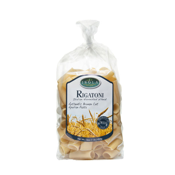 Isola Bronze Cut Rigatoni 16oz