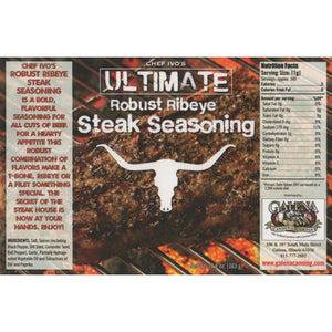 Galena Canning Company Ribeye Steak Seasoning 10.5oz