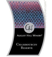 August Hill Chambourcin Reserve (Available for local delivery only.  Must be 21 or over with valid ID upon delivery.)