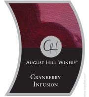 August Hill Cranberry Infusion (Available for local delivery only.  Must be 21 or over with valid ID upon delivery.)