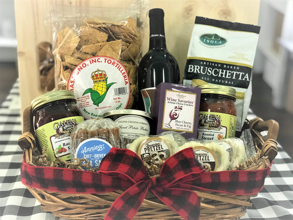 """Perfect Gathering"" Gift Basket"