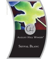 August Hill Seyval Blanc (Available for local delivery only.  Must be 21 or over with valid ID upon delivery.)