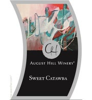 August Hill Sweet Catawba (Available for local delivery only.  Must be 21 or over with valid ID upon delivery.)