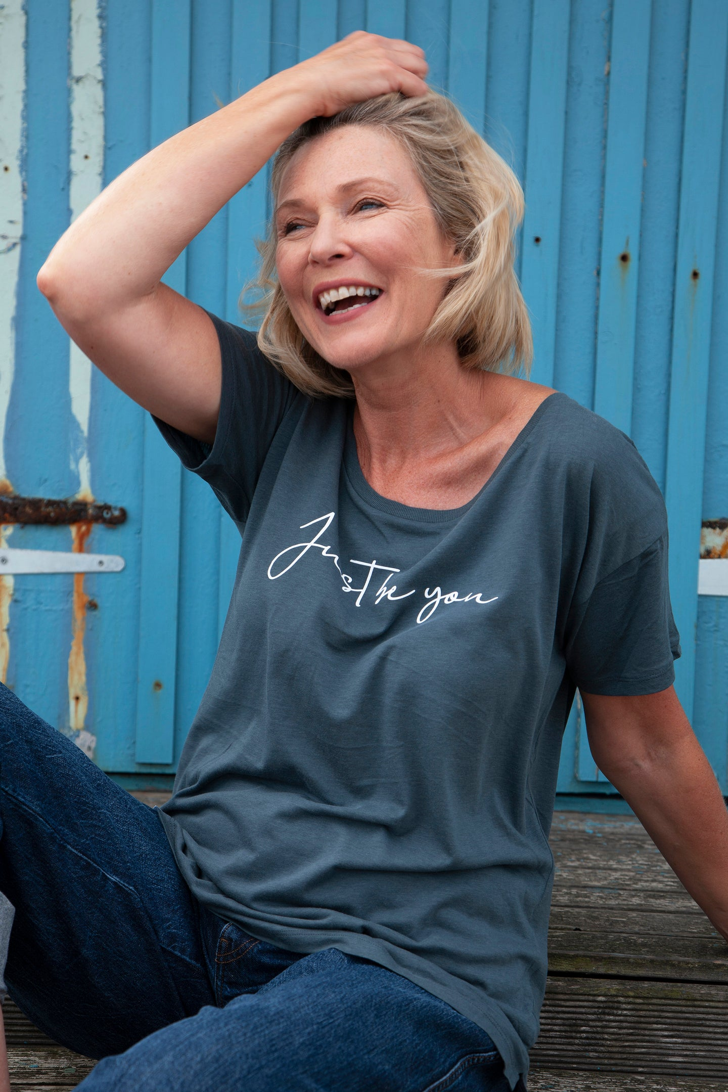 'Just be you' Women's Loose-fit T-Shirt