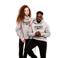 Load image into Gallery viewer, Grey Unisex Hoody, Acceptance & Equality