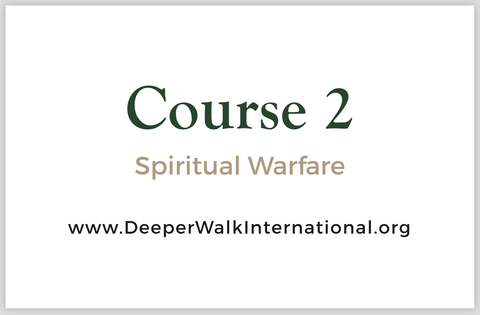 Course 2 - Spiritual Warfare - USB Flash Drive