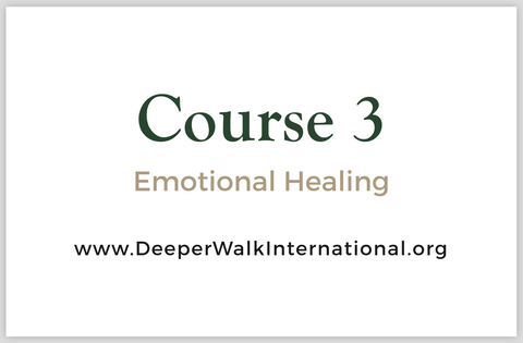 Course 3 - Emotional Healing - USB Flash Drive