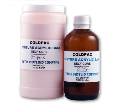 Coldpac Denture Acrylic Repair Kit