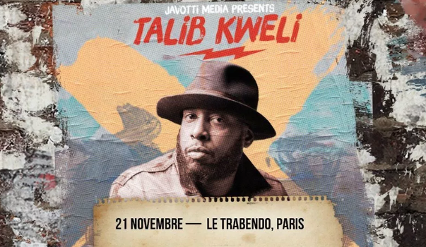 By the way, le grand Talib Kweli se produit au Trabendo le mercredi 21 Novembre.