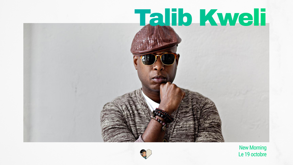 Talib Kweli au New Morning