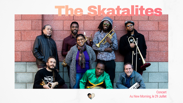 Skatalites en concert au New Morning