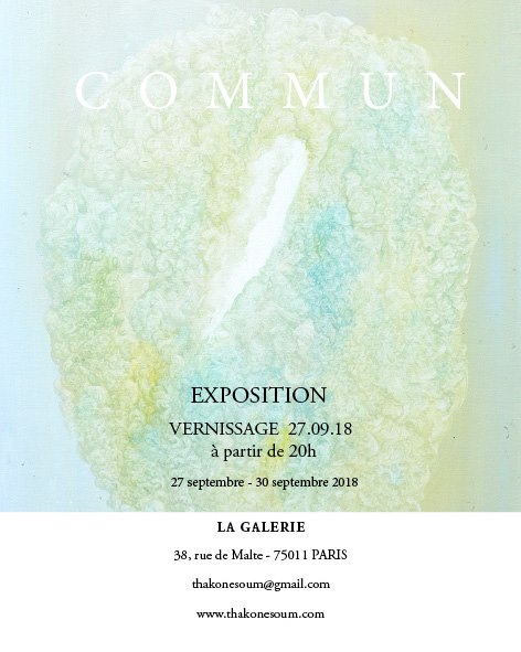 Vernissage exposition Thakone Soum