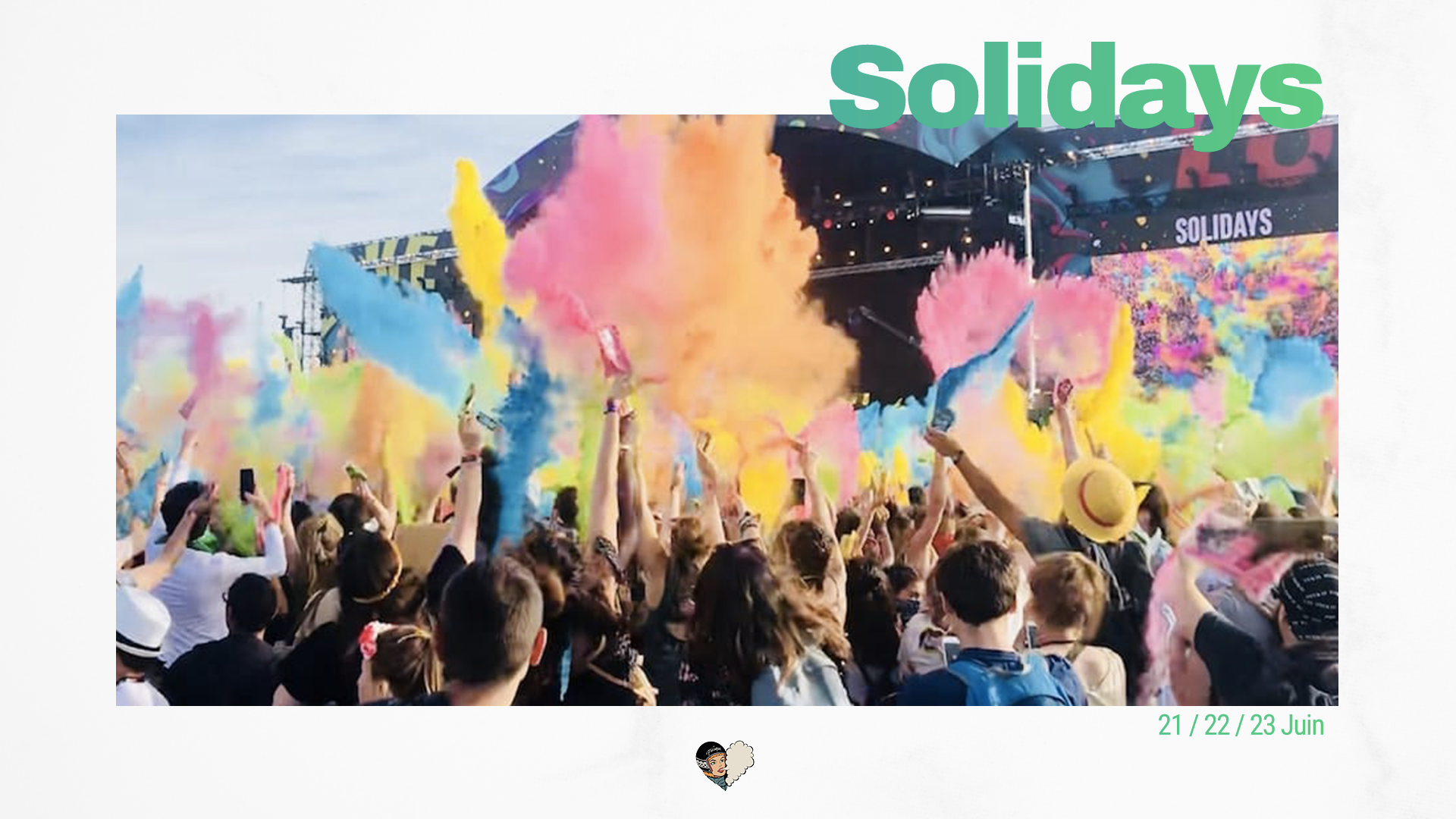 La playlist Solidays 2019 est disponible !