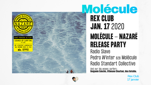 Molécule - Nazaré Release Party: Radio Slave, Pedro Winter &more