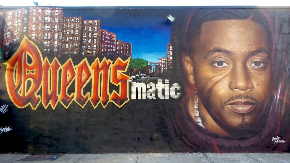 Nas a son mur à New York