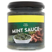 HAPPY SHOPPER MINT SAUCE, 175g