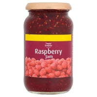 HAPPY SHOPPER RASPBERRY JAM, 454g