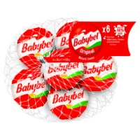 MINI BABYBEL ORIGINAL CHEESE SNACKS, 6X20g