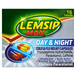 LEMSIP DAY & NIGHT, 16 capsules