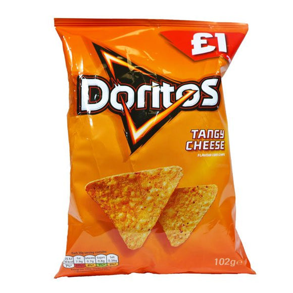 DORITOS, TANGY CHEESE 102g