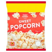 HAPPY SHOPPER SWEET POPCORN, 55g