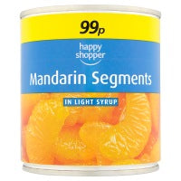 HAPPY SHOPPER MANDARIN SEGMENTS, 312g