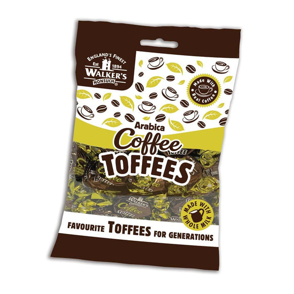 WALKERS ARABICA COFFEE TOFFEES, 150g