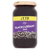 HAPPY SHOPPER BLACKCURRANT JAM, 454g