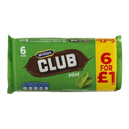 JACOBS CLUB MINT, 6 pack