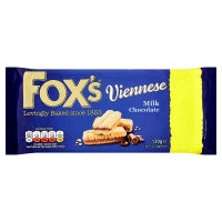 FOXS CHOCOLATE VIENNESE MELT, 120g