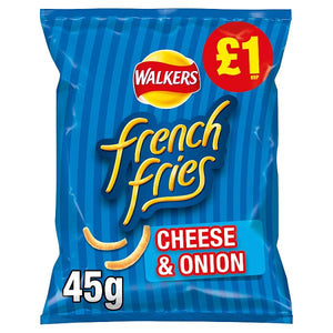 WALKERS FRENCH FRIES CHEESE & ONION, 45g