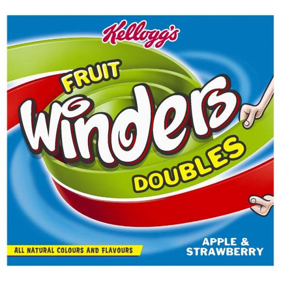 KELLOGGS STRAWBERRY & APPLE WINDERS, 5X17g