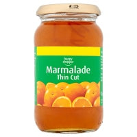 HAPPY SHOPPER THIN CUT MARMALADE, 454g