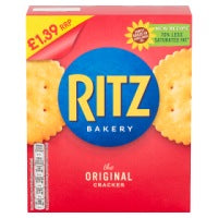 RITZ ORIGINAL CRACKERS, 200g