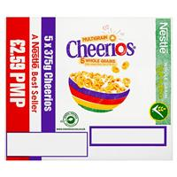 NESTLE CHEERIOS CEREAL, 375g