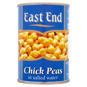 EAST END CHICK PEAS, 400g
