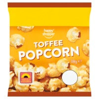 HAPPY SHOPPER TOFFEE POPCORN, 38g