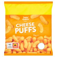 HAPPY SHOPPER CHEESE PUFFS, 70g