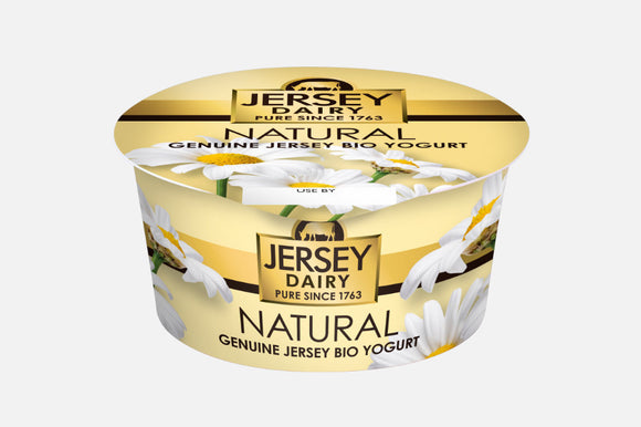 JERSEY DAIRY NATURAL YOGURT, 150g