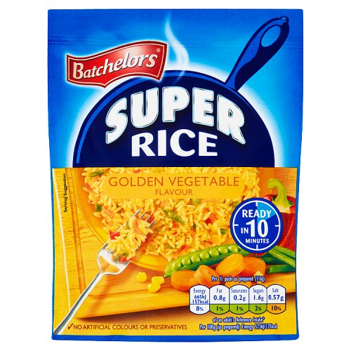 SUPER RICE GOLDEN VEGETABLE, 90g