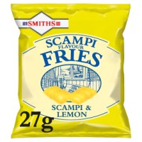 SMITHS SCAMPI FRIES, 27g