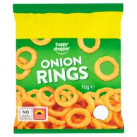 HAPPY SHOPPER ONION RINGS, 70g