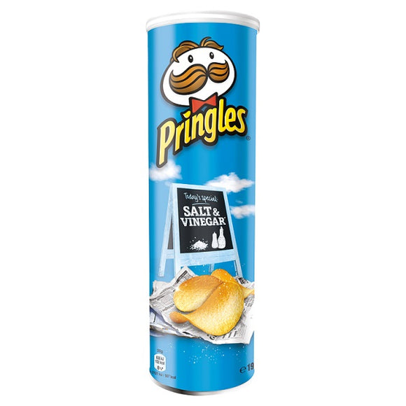 PRINGLES SALT & VINEGAR, 200g