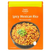 HAPPY SHOPPER MICROWAVEABLE MEXICAN RICE, 250g