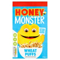 HONEY MONSTER WHEAT PUFFS, 520g