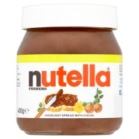 NUTELLA HAZELNUT SPREAD WITH COCOA, 400g