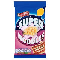 BATCHELORS SUPER NOODLES BACON FLAVOUR, 100g
