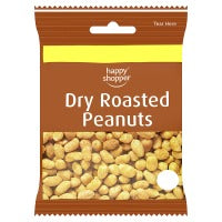 HAPPY SHOPPER DRY ROASTED PEANUTS, 60g