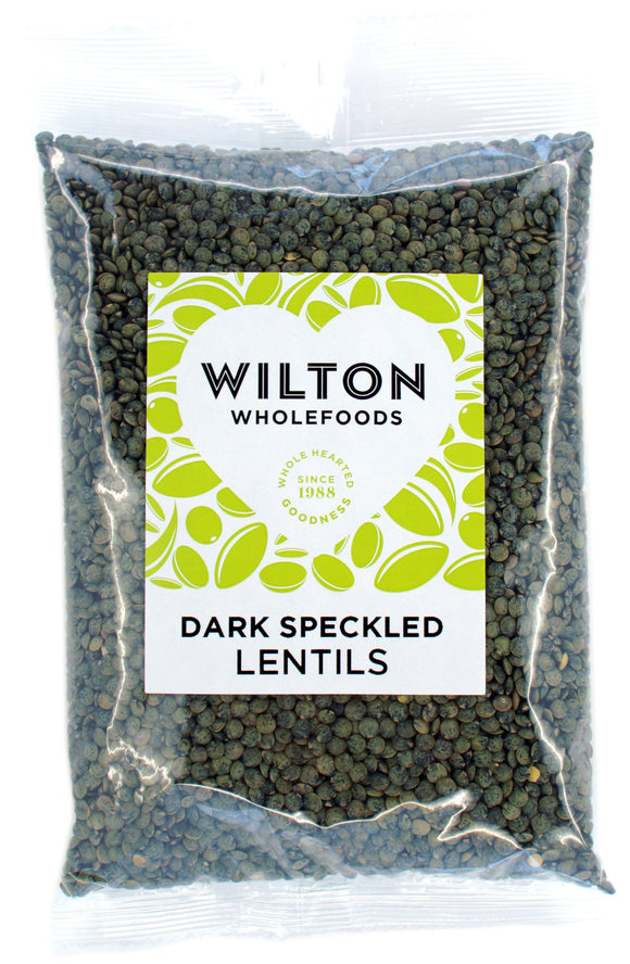 WILTON DARK SPECKLED LENTILS, 500g